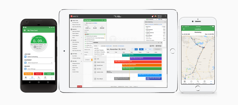 T Sheets Time Tracking Software Nonprofit