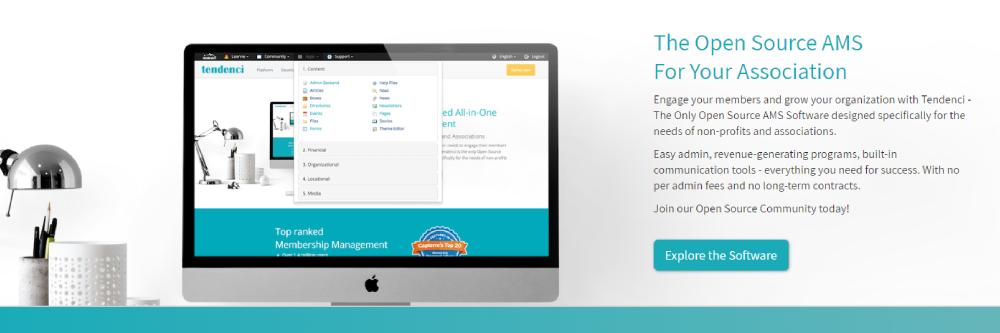 Tendenci Best Membership Site Platform