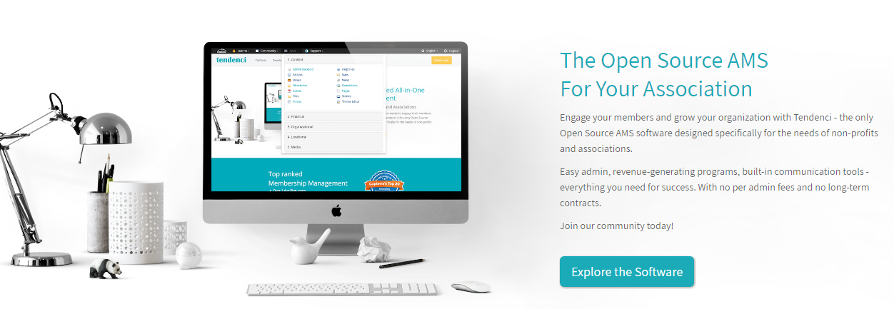 Tendenci Free Membership Management Software