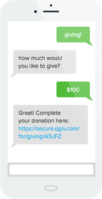 Text-to-Donate-Process