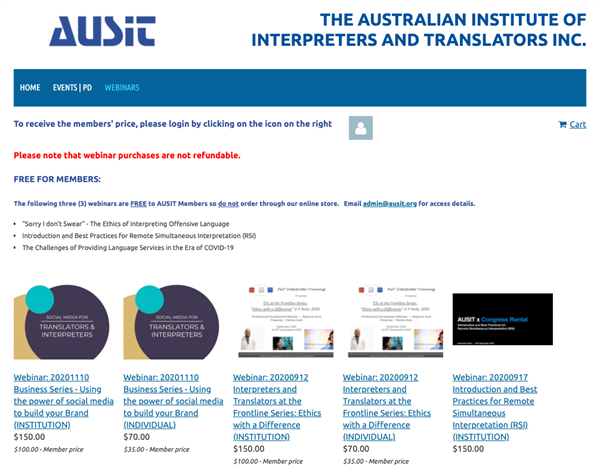 The Australian Institute of Interpreters and Translators