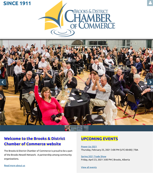 The Brooks & District Chamber of Commerce