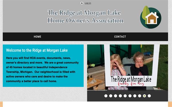 The Ridge HOA website