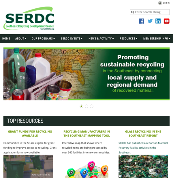 The Southeast Recycling Development Council