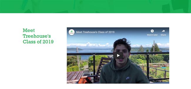 Treehouse for Kids best nonprofit website
