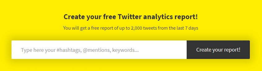 Tweet Binder hashtag tool