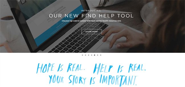 TWLOHA best nonprofit website