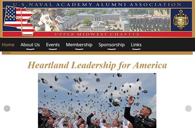 USNA Membership Website Example