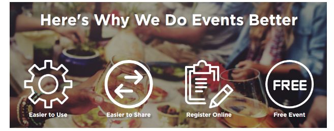 WhenNow event registration software