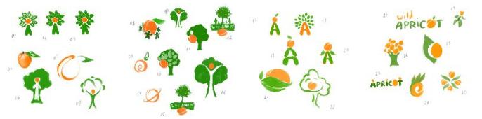 Wild Aprico Logos