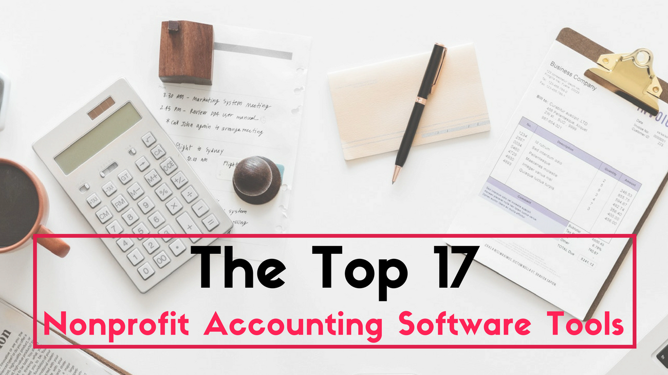 Top 17 nonprofit accounting software