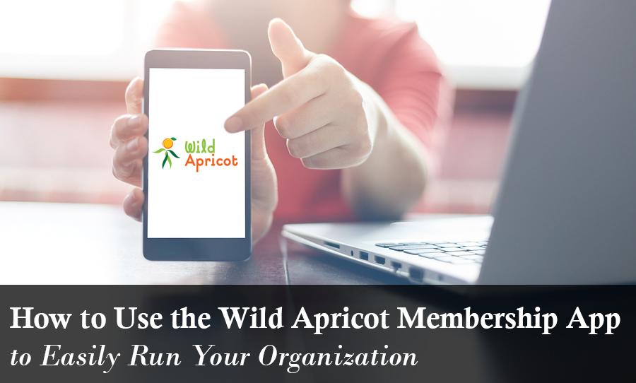 Wild Apricot Membership App