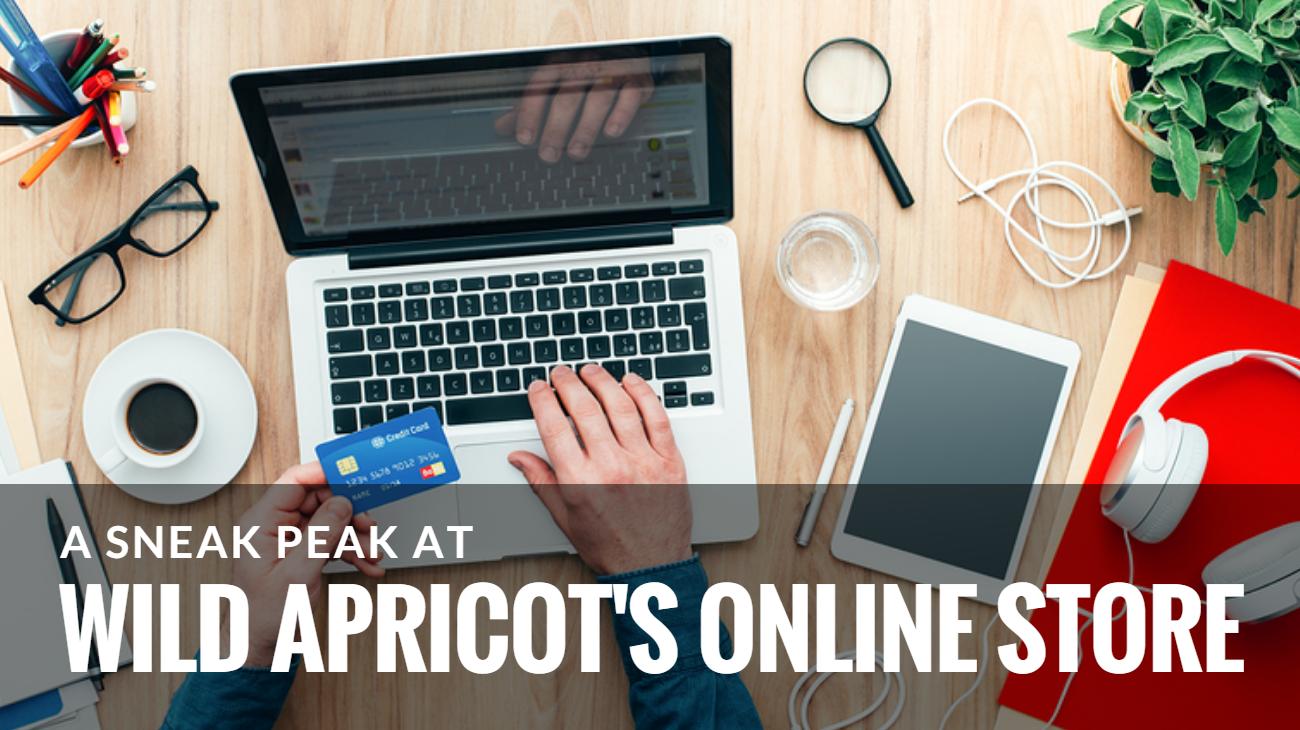Wild Apricot Online Store Sneak Peak