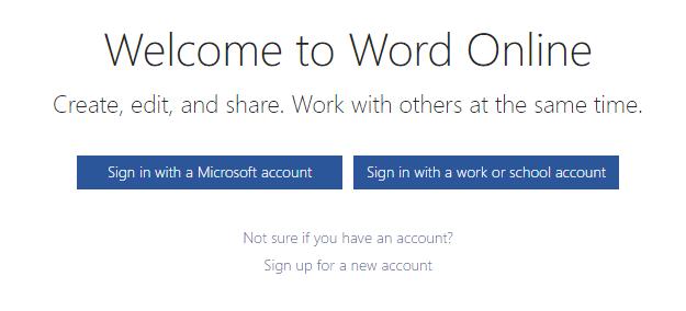 Online microsoft word editor