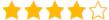 WordPress Plugin 4 Stars