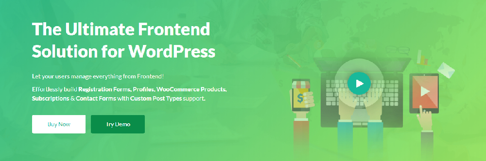WP User Frontend WordPress Membership Plugin