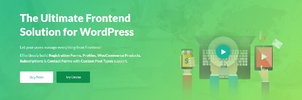 WP User Frontend WordPress Membership Plugin