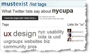 MustExist screenshot for @nycupa account