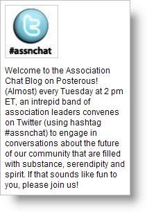 Association Chat Blog screenshot