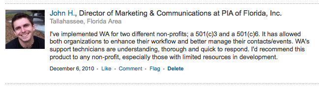 John Herd - LinkedIn Recommendation