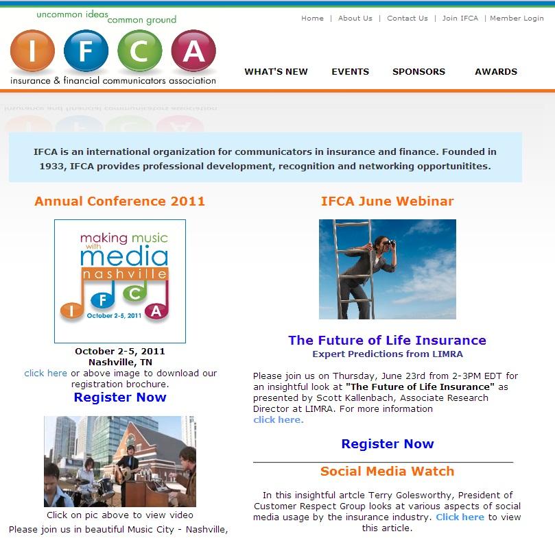ifca homepage