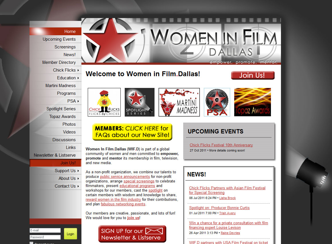 Women in Film.Dallas