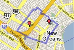 NOLA food map