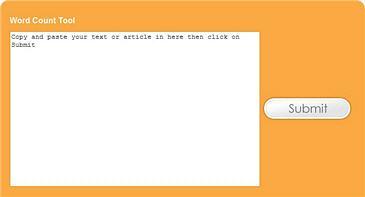 word count tool screenshot