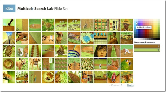 multicolr-flickr-search