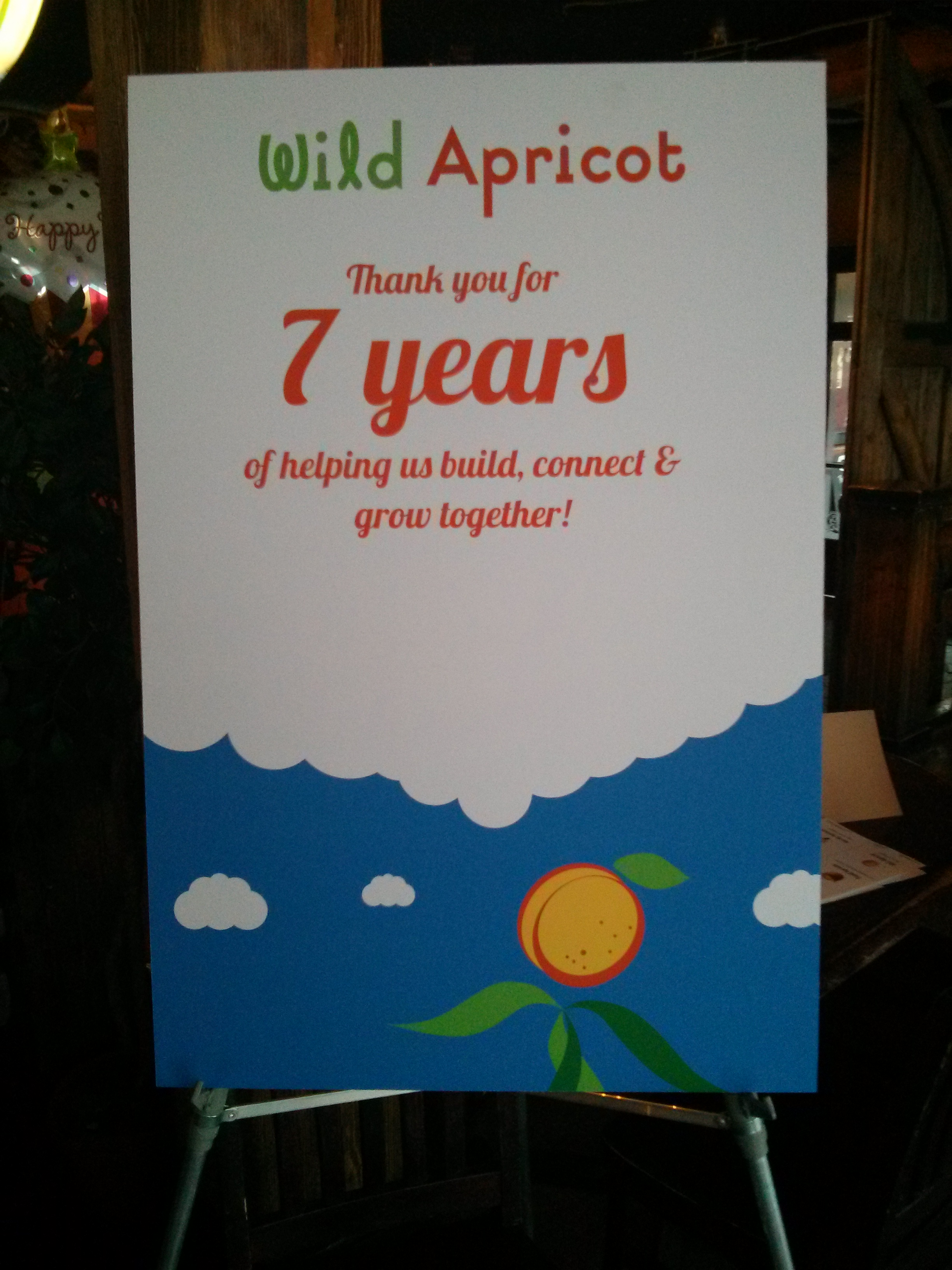 Celebrating Years of Friendship Celebrating 7 Years of Wild