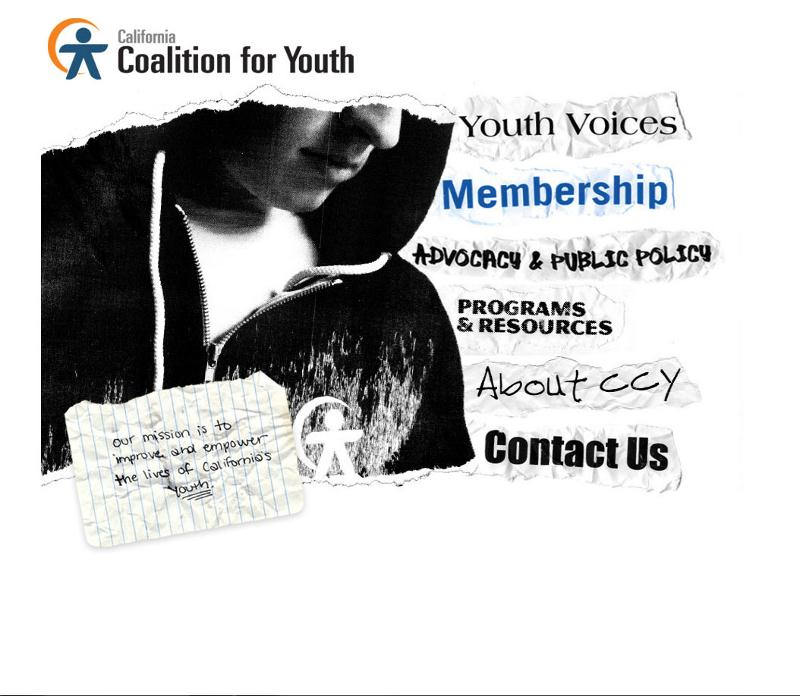 California Coalition for Youth - homepage