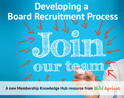 Developing a board recruitment process wild apricot membership table of contents stopboris Gallery