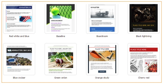email themes