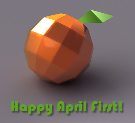 Happy April 1st!