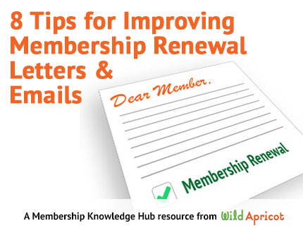 Improving Membership Renewal Letters