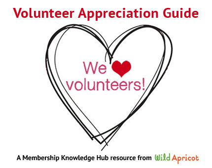 volunteers nonprofit management resources and membership guides wild apricot