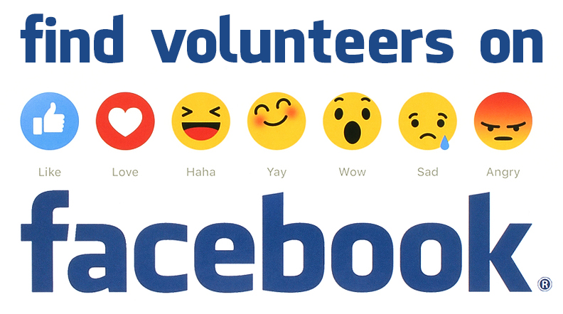 volunteers facebook