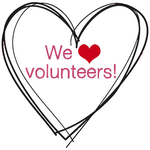 We Heart Volunteers