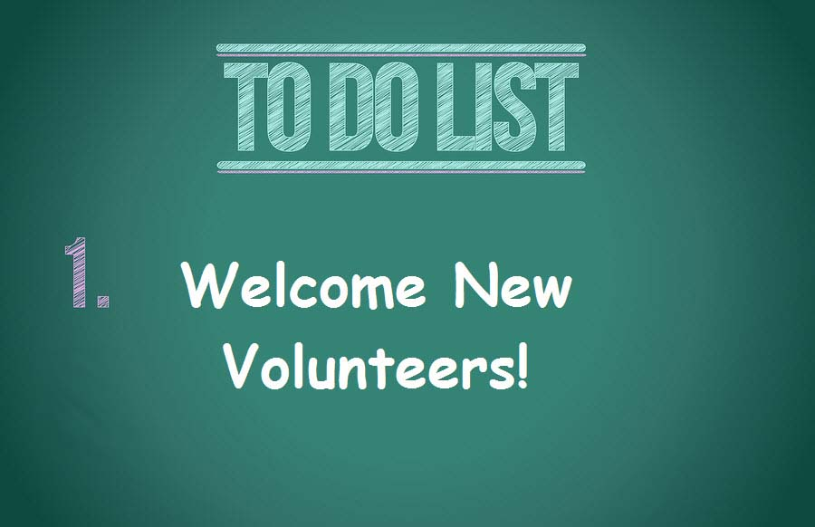 New Volunteer Checklist Wild Apricot Membership