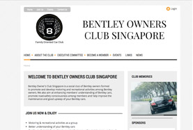 Bentley Owners Club, Singapore